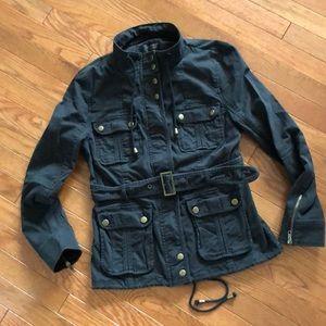 Victoria's Secret size 8 black jacket/pea coat